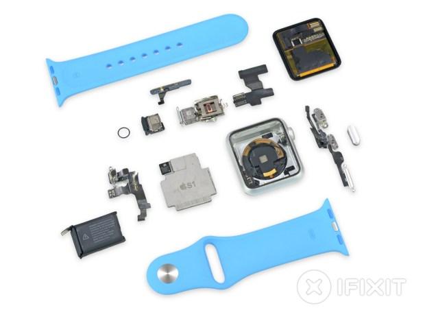 Apple Watch demontat de ifixit.com