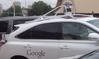 Google Lexus - masini autonome in Austin Texas