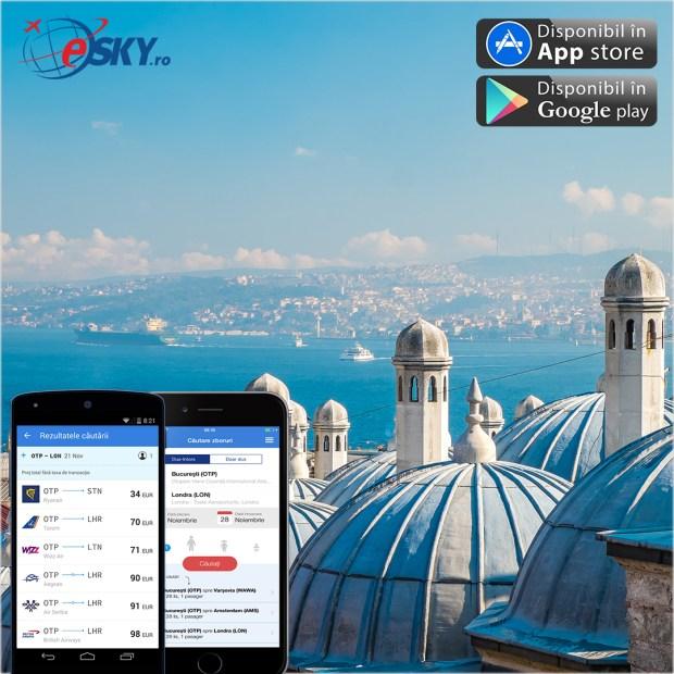 Aplicatia eSKY.ro pentru mobil, recunoscuta drept cea mai utila la Webstock 2015