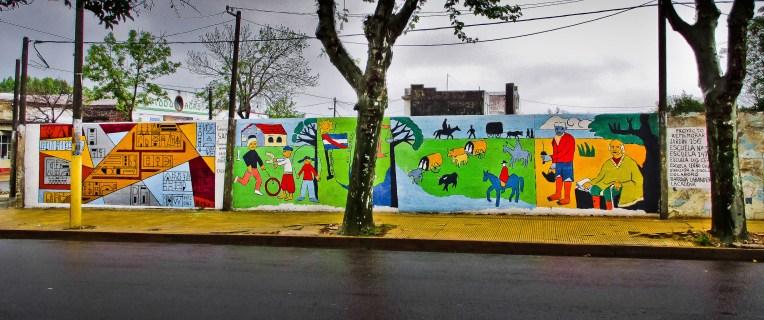 mural en San Gregorio de Polanco, Uruguay_2