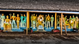 mural en San Gregorio de Polanco, Uruguay_31