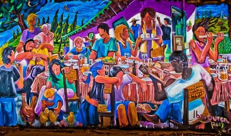 mural en San Gregorio de Polanco, Uruguay_7