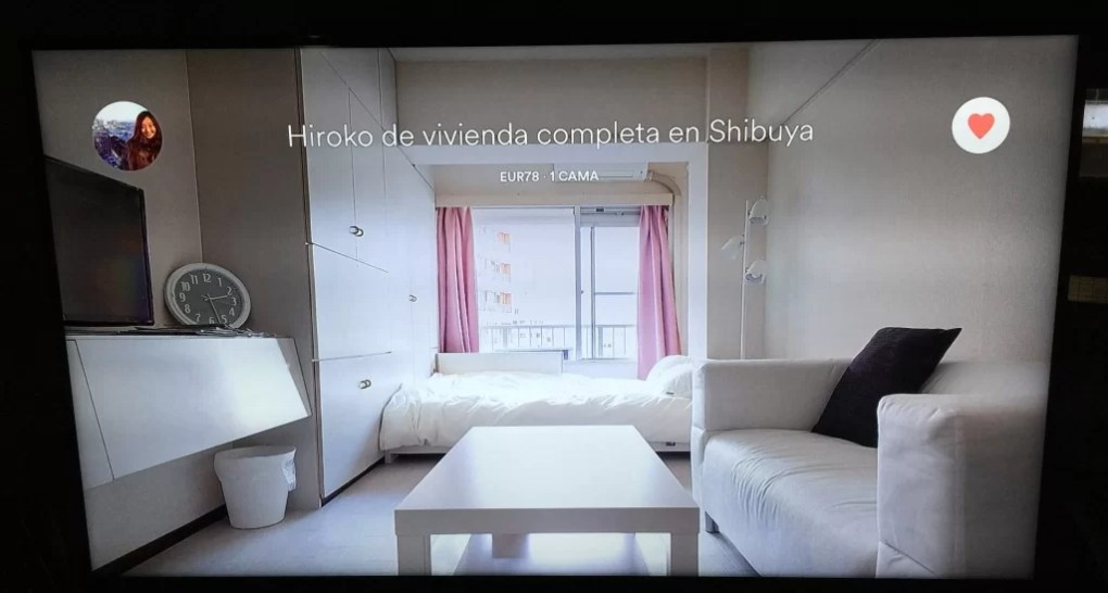 AirBNB for Apple TV