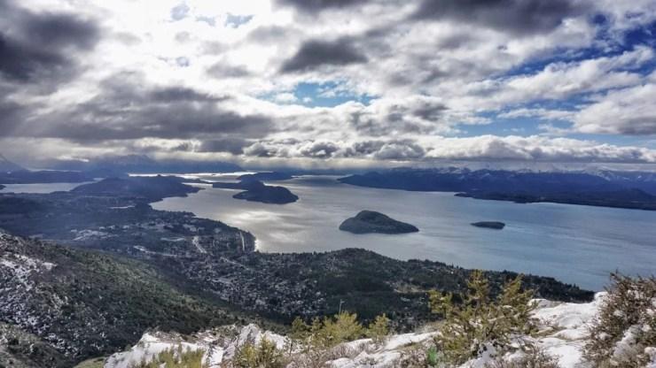 La vista desde el Cerro Otto