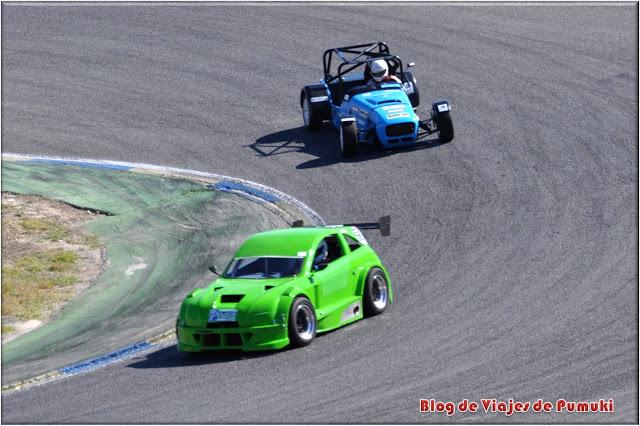 Carreras de coches acompañan al GP Camion en el Jarama