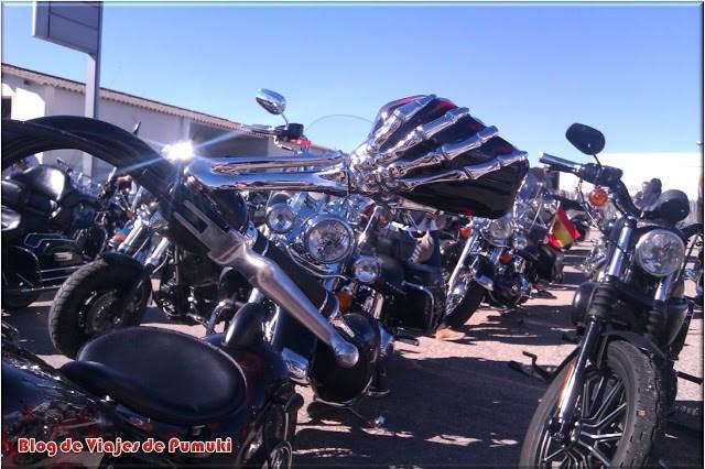 Las Harleys acompañan el GP de camiones de Madrid