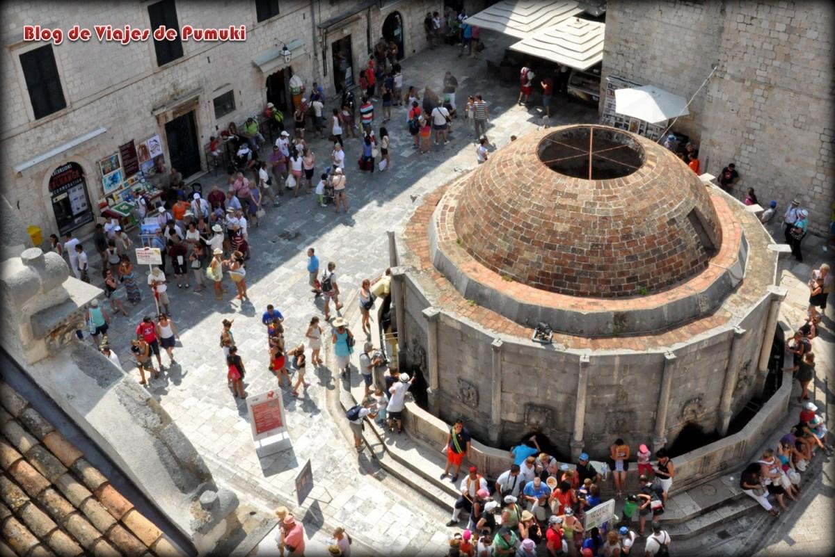 Gran Fuente de Onofrio en Dubrovnik