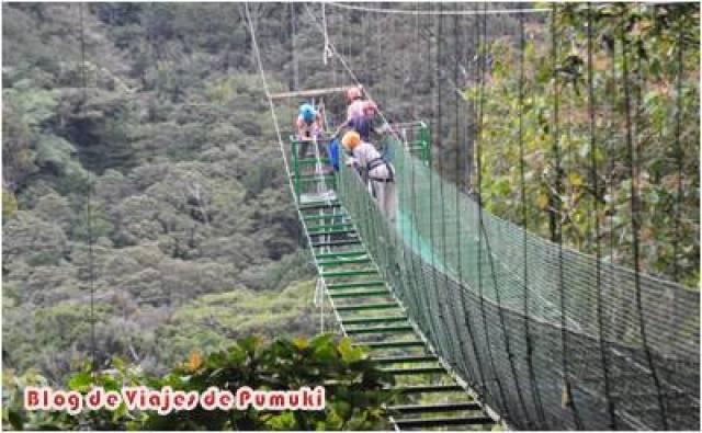 El Swing o Tarzán, en 100% aventura es una caida libre de 60 metros.
