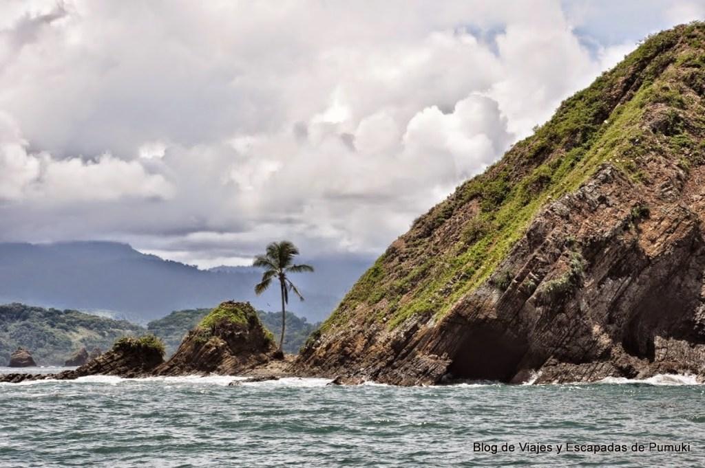 Isla Ballena en Marino Ballena, Costa Rica