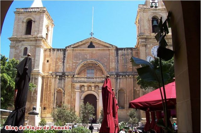 Catedral barroca de San Juan en la Valeta. blog de viajes a Malta