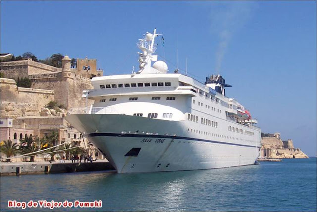Malta es parada habitual de cruceros. Blog de Viajes a Malta
