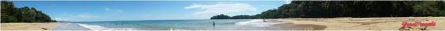 Fantásticas playas del Caribe de costa Rica. Mas en Blog de Viajes a Costa Rica en familia