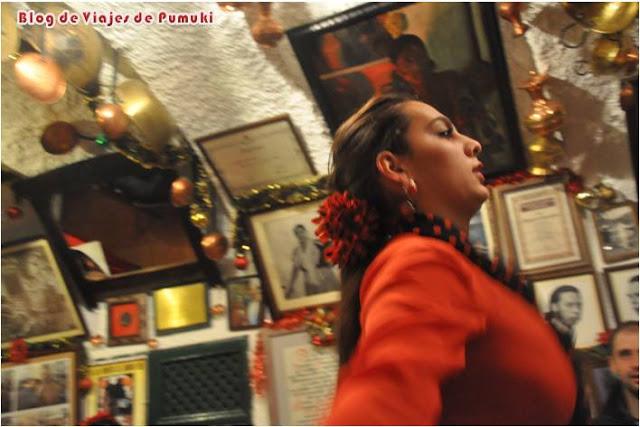 Baile flamenco Sacromonte, Granada