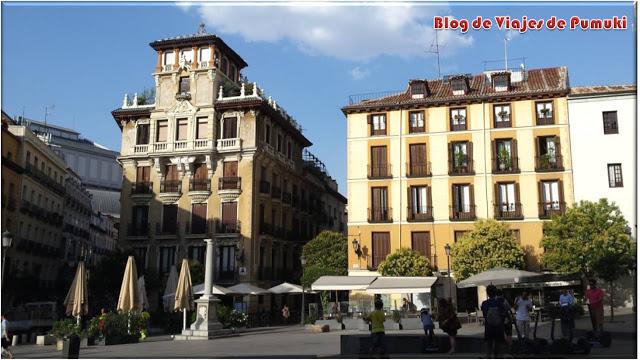 La plaza de Ramales, Madrid es punto de paso del recorrido en segway por el Madrid de los Austrias