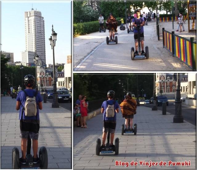 El segway es un medio eficaz para recorrer el casco antiguo de una gran ciudad como Madrid
