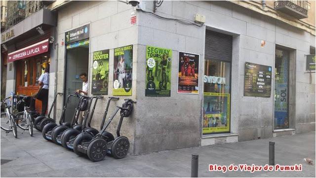 Segway por Madrid con UrbanMovil
