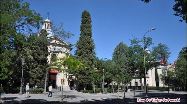Ermita de San Antonio de la Florida, que alberga los frescos de Goya. Blog de Viajes de Madrid