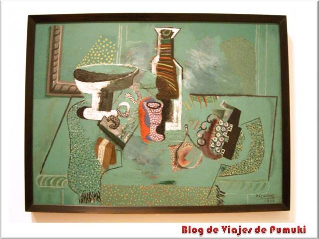 Naturaleza Muerta Verde de Picasso en el MoMA de Nueva York