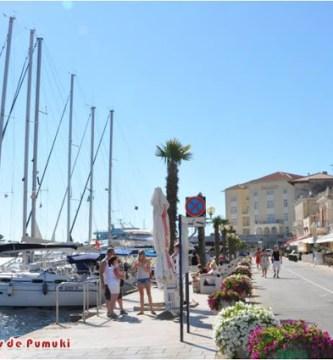 Poreč en la Península de Istria, Croacia