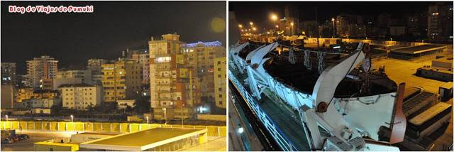 Viaje en Ferry de Durres en Albania a Bari, Italia con coche y en familia