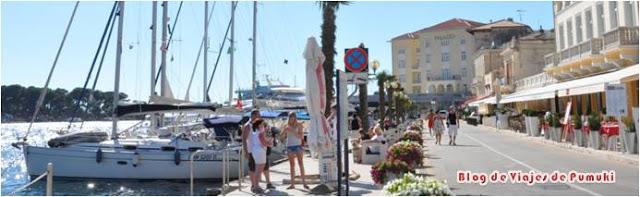Porec es un pueblo costero del Adriático en la península de Istria en Croacia