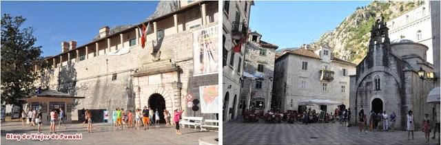 Kotor en Montenegro. Patrimonio de la Humanidad por la UNESCO. Viaje en familia desde España en coche