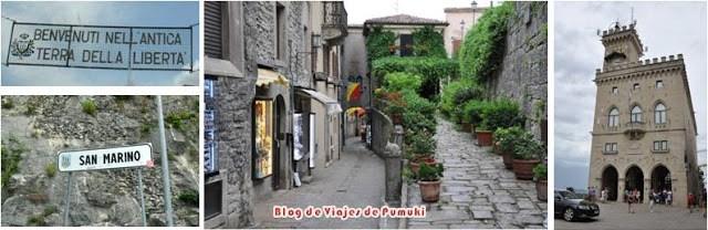 La República de San Marino. Patrimonio de la Humanidad por la UNESCO. Viaje a San Marino en familia desde España en coche