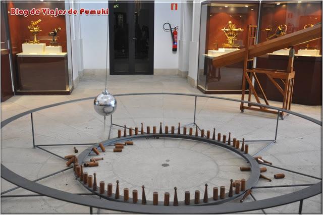 Péndulo de Foucoult en Observatorio Astronómico de Madrid