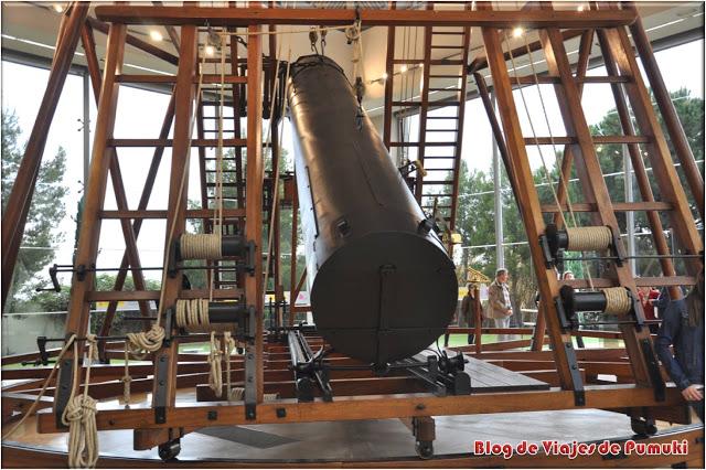 Telescopio Hershel del Observatorio Astronómico de Madrid