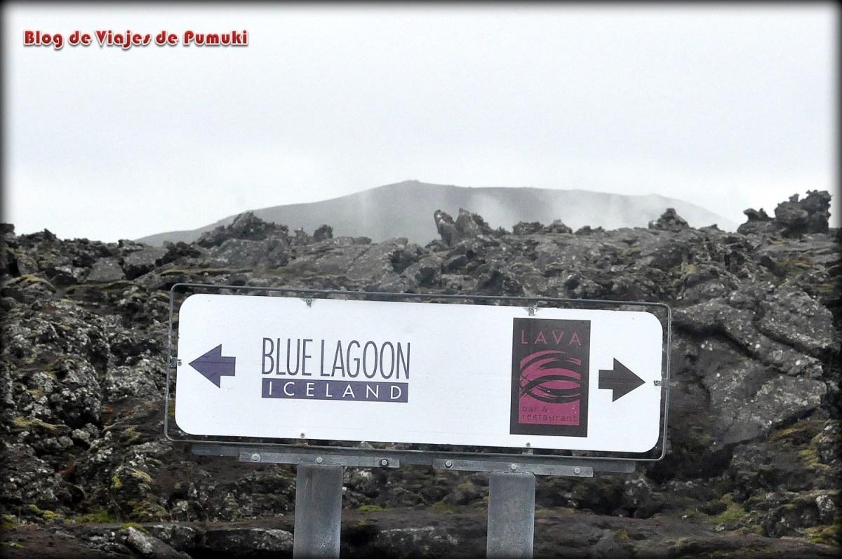 Señal del Blue Lagoon