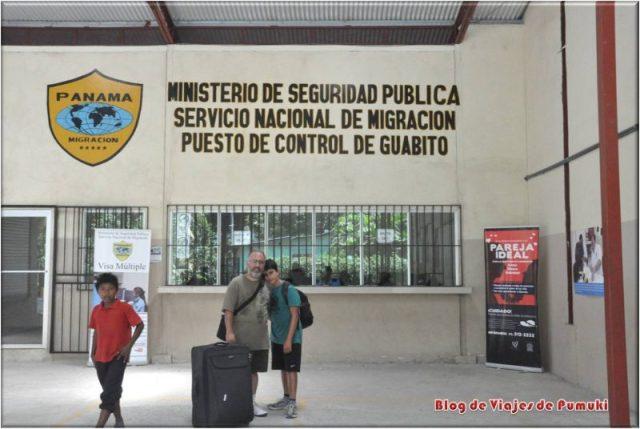 Control de Inmigración de Guabito, Panamá