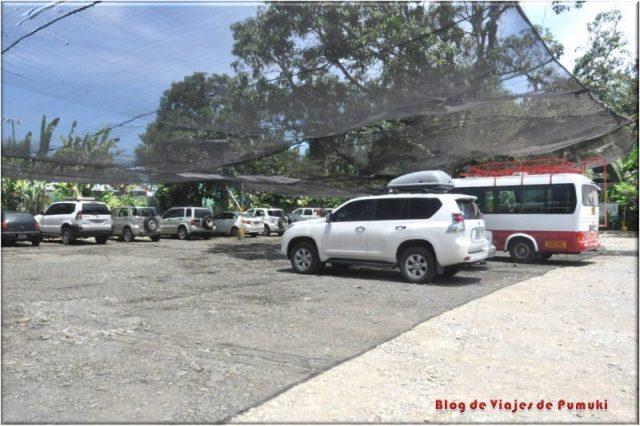 Parqueo o parking de Sixaola