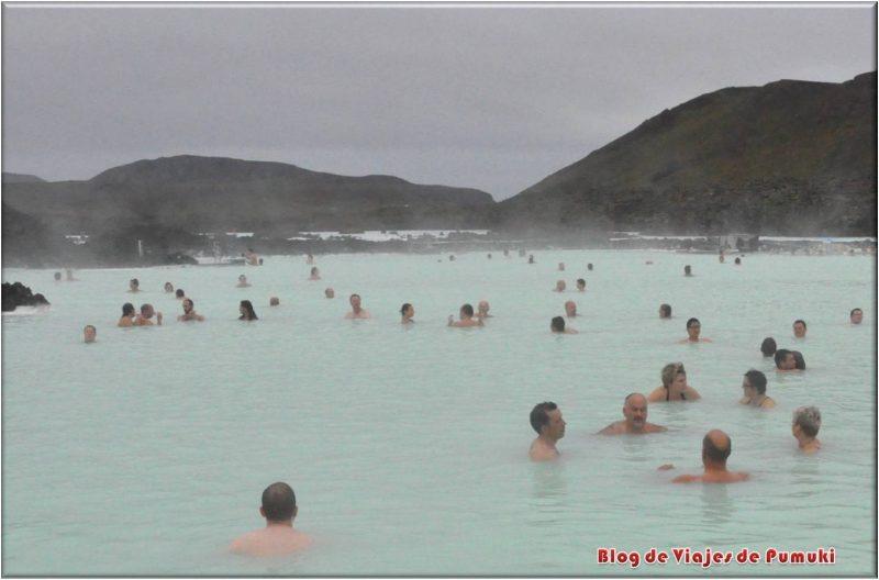 Lago Azul o Blue Lagoon, Islandia