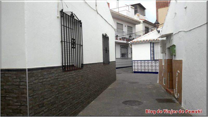 Calles típicas andaluzas del Rincón de la Victoria