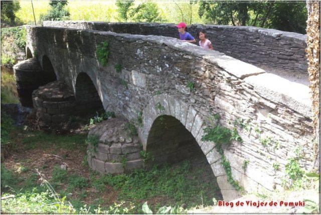 Niños en el Camino de Santiago