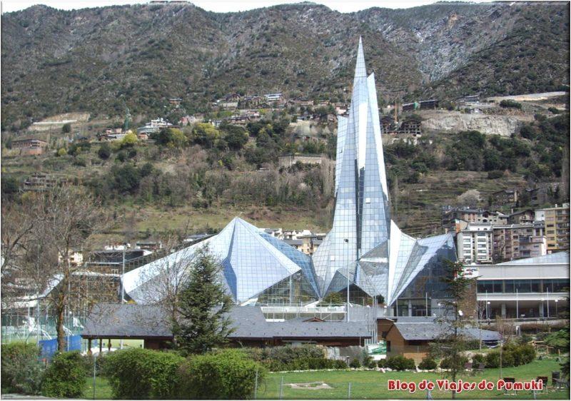 Caldea, centro termolúdico en Andorra. Con spas, saunas, masages, etc