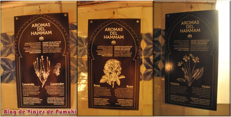 Sala de Aromas del Hammam Al-Andalus en Madrid