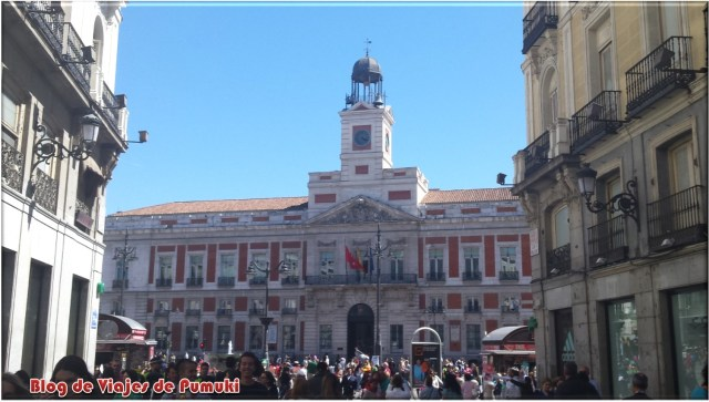 Casa de Correos. Puerta del Sol de Madrid