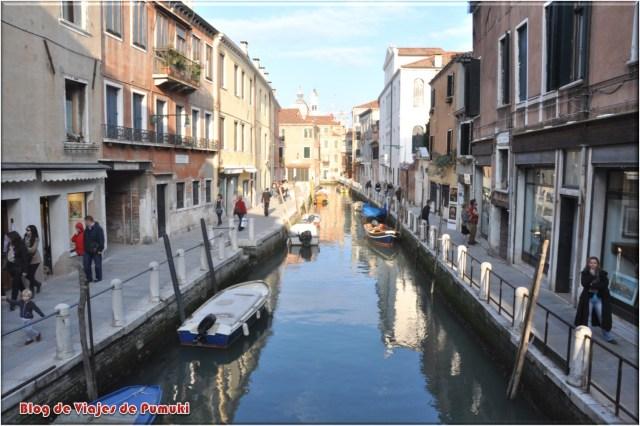 Barrio de Dorsoduro de Venecia