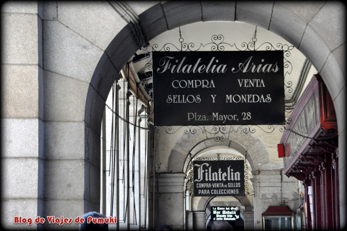 Tiendas de Filatelia en Plaza Mayor