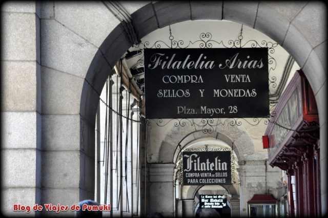 Tiendas de Filatelia en Plaza Mayor