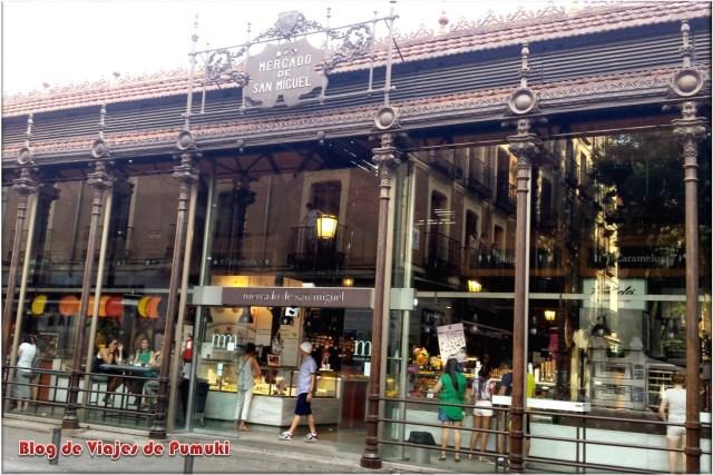 Mercado Gourmet de San Miguel en Madrid