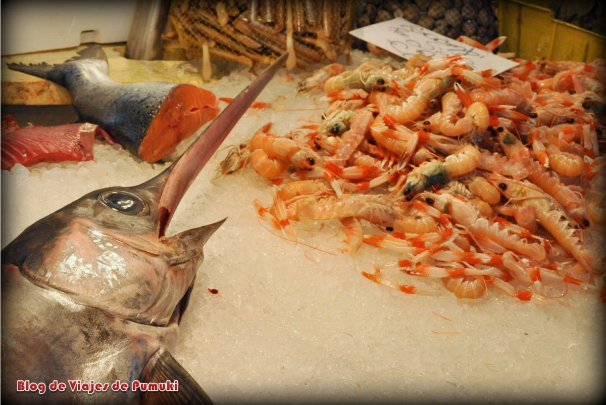 Pescado en el Mercado de Venecia