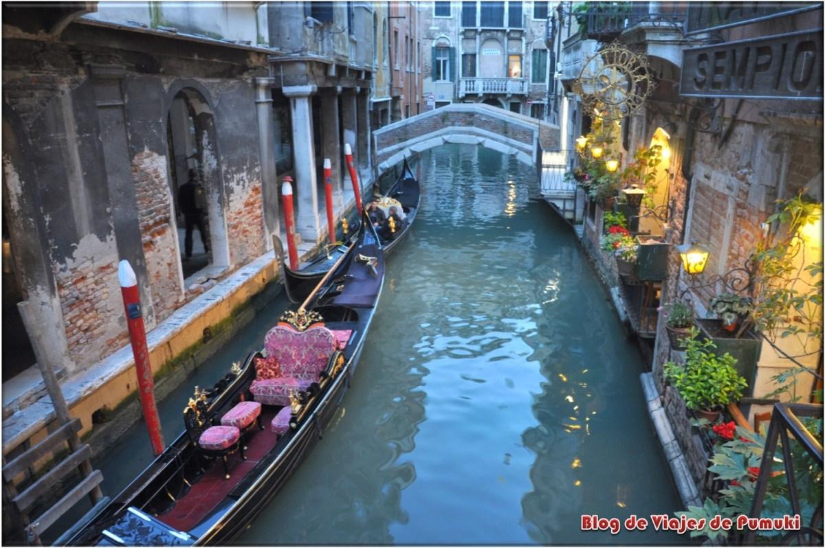 Pequeños Canales de Venecia
