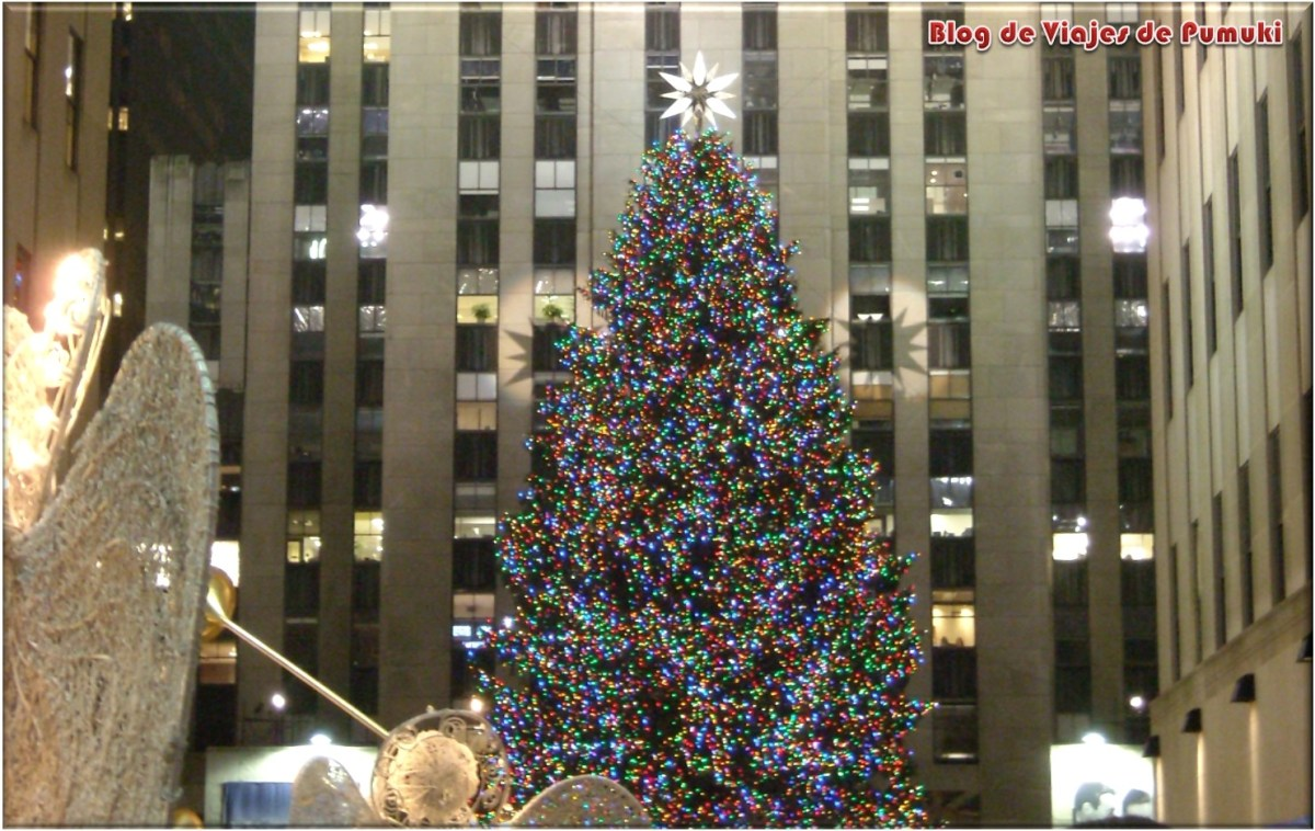 Encendido arbol Rockefeller Center