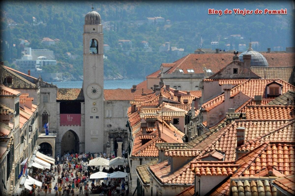 Calle Stradun o Plaka de Dubrovnik