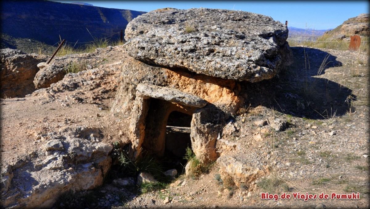 Dolmen 134 en Ruta de las Hoyas del Coquín