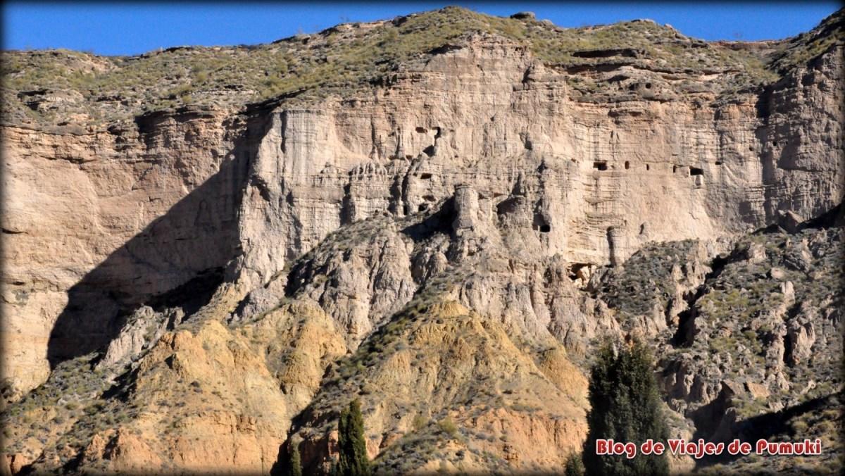 Las cuevas de Gorafe