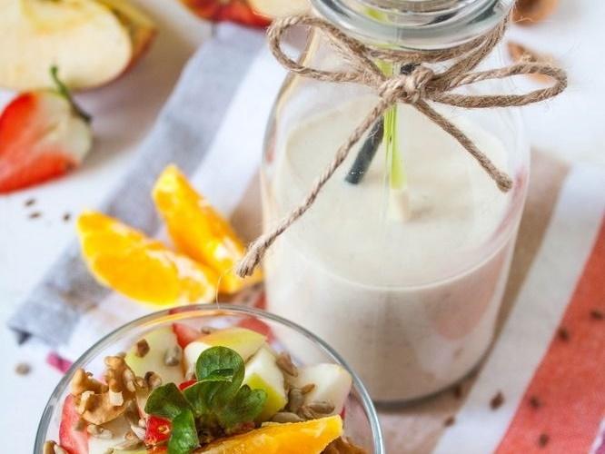Wegański jogurt owocowy