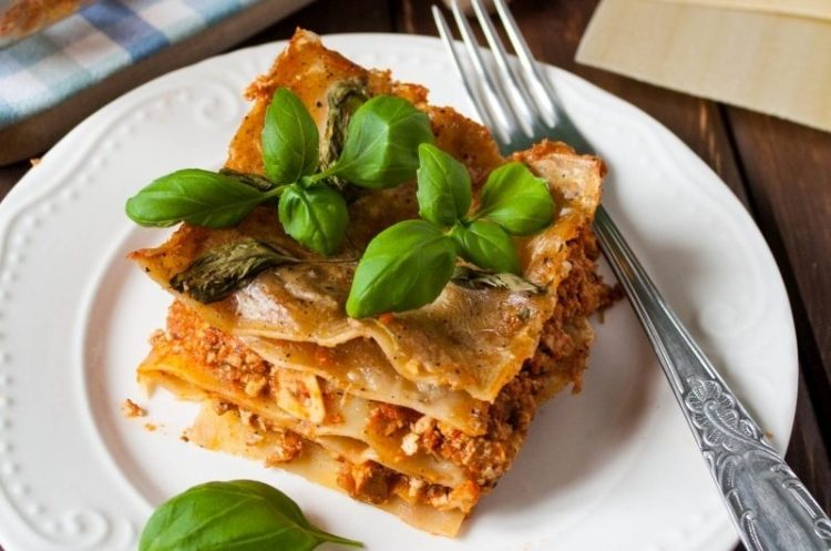 Lasagne a'la bolognese